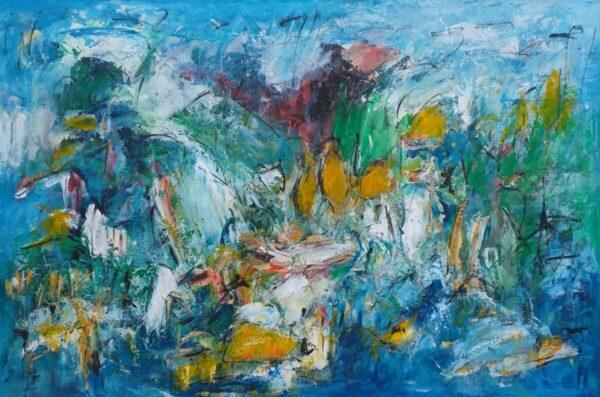 Creation abstrakt maleri
