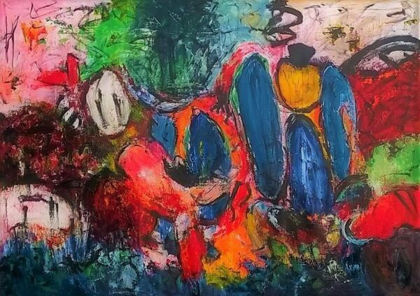 Jitterbug maleri