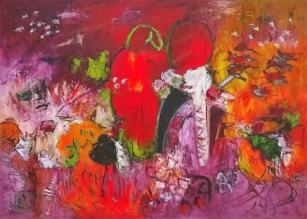 Strawberry maleri