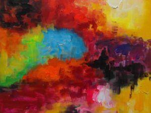 Abstrakte udtryk maleri