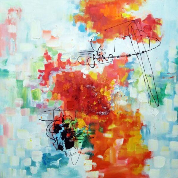 Dømmekraft abstrakt maleri