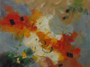 Empati abstrakt maleri