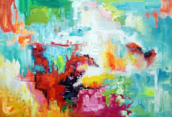 Exces abstrakt maleri