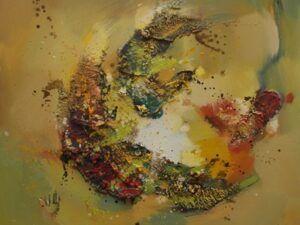 Forårsfryd maleri