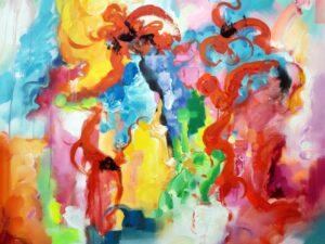 Forståelse abstrakt maleri