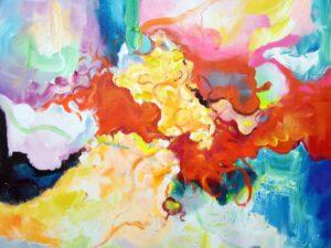 Kraft abstrakt maleri