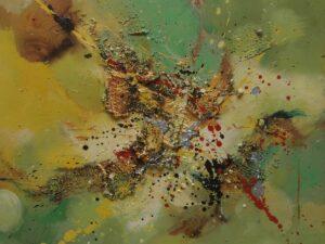 Splash abstrakt maleri
