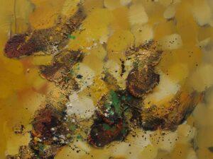 Sunday Morning abstrakt maleri