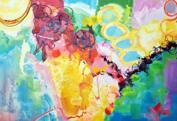 Trofast abstrakt maleri
